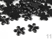 Kytičky drobné - černé - 500ks