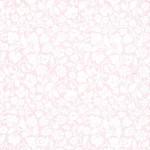 Ubrousky růžové - rostlinný ornament