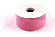 Tylová stuha růžová - 5cm/1m