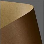 Tvrdý papír - kraft - přírodní tm.hnědý - A4