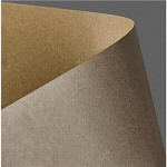 Tvrdý papír - kraft - přírodní sv.hnědý - A4