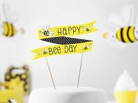 Napichovátko do dortu - včelka - happy day