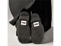 Nálepky na boty - The end - 2ks