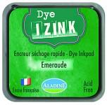 Razítkovací polštářek velký rychleschnoucí - smaragdový