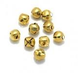 Rolničky malé - zlaté - 10ks