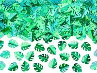Konfety zelené listy monstera - 15g