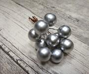 Drátek s kuličkou - stříbrná - 10ks