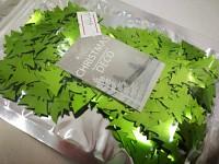 Konfety stromečky - zelené lesklé