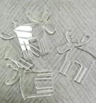 Plastový sob - čirý - 1ks