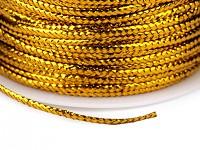 Dutinka s lurexem 30m - zlatá