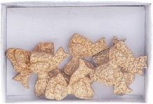 Dekorační nalepovací zlaté mašličky - 6 ks