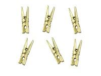 Kolíčky dřevěné 72mm - červené - 10ks