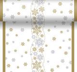 Šerpa Dunicel - vánoční - rustik s hvězdami - 120cm