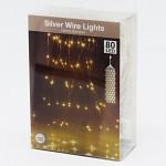 Světelná kaskáda - 80 LED teplá bílá - 75 cm
