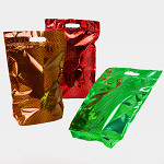 Celofánový sáček - 14x23cm - potisk balonky