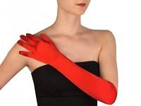 Rukavice červené prstové