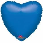 Foliový balonek srdce modré