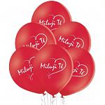 Maxi balon kulatý 60cm - růžový