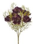 Kytice - růže a hortenzie - růžovolososová