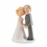 Svatební ozdoba na dort - roztomilý pár