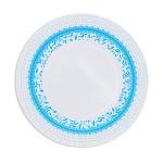 Papírové talíře - vzor barevný - více barev - 8ks