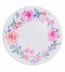 Papírové talíře - květinový věnec - 8ks