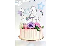 Napichovátka na dort  - unicorn