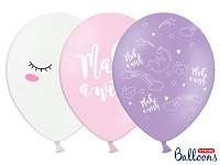 Balonek - unicorn párty - mix barev