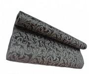 Vlizelín vintage vzor - 50cm - 4,5m - šedý