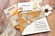 Svatební oznámení L3011