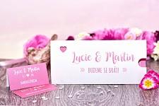 Svatební oznámení L3014