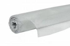 Organza stuha - briliant stříbrná 12cm