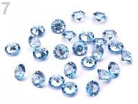 Broušené kapky rosy miniaturní - modré