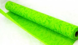 Vlizelín vintage vzor - 50cm - 4,5m - zelená