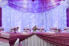 LED světelná záclona - 3x3m - studená bílá - půjčovna
