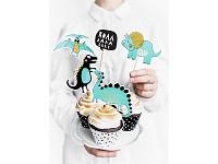 Napichovátka na dort  - dinosaurus