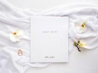 Svatební kniha hostů - bílá velká