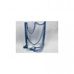 Síťka rybářská dekorační modrá - 2 x 4 m