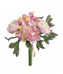 Kytička hortenzií malá - sv.růžová