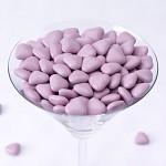 Čokoládová lila srdíčka - 250 g