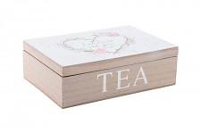 Krabička na čaj - srdce