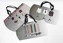 Dárková skládací krabička (taška) - pánská