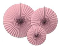 Rozety závěsné - zelené děrované - 3ks