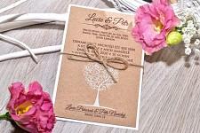 Svatební oznámení L3030