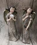 Anděl snící - champagne glitter 16cm