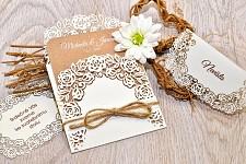 Svatební oznámení L3037
