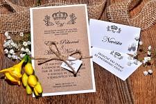 Svatební oznámení L3038