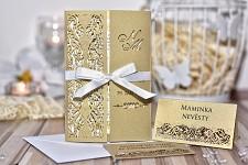 Svatební oznámení L3044