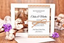 Svatební oznámení L3045