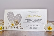 Svatební oznámení L3046
